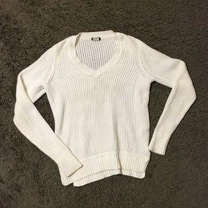JCrew Open Knit Sweater